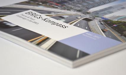 Amerikanisches Bankhaus Broschüre BRICs-Kompass