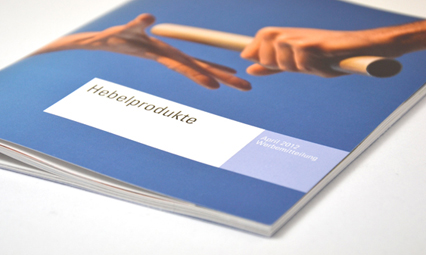 Amerikanisches Bankhaus Broschüre Hebelprodukte