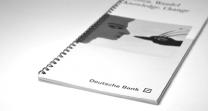 Deutsche Bank Broschüre
