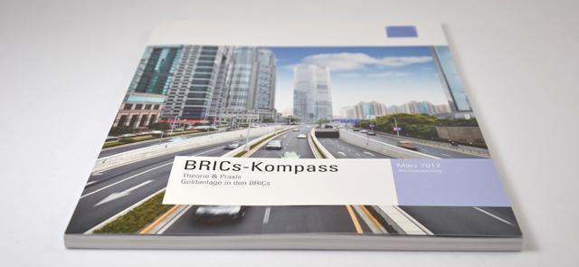 Amerikanisches Bankhaus - Broschüre BRICs